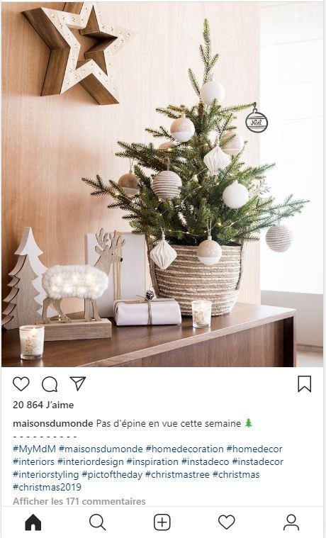 instagram maison du monde